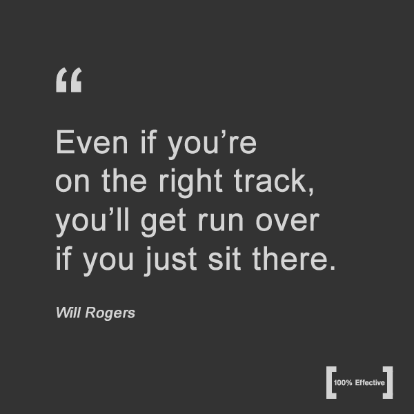Continuos Growth Quote from Will Rogers_In the News